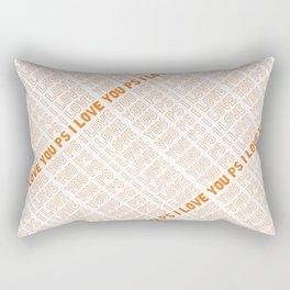 PS I Love You Rectangular Pillow