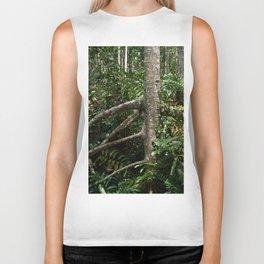 Tropical forest Biker Tank
