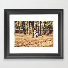 Floating On a Breeze Framed Art Print