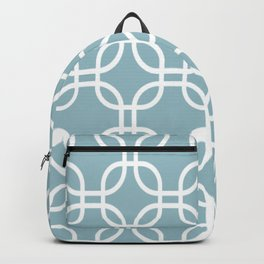Blue Retro Backpack
