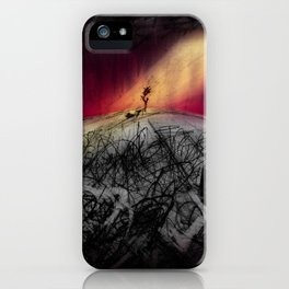 Like a Lily Among Thorns iPhone Case