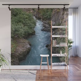 Alaska River Canyon - I Wall Mural
