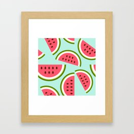 Watermelon Framed Art Print