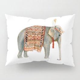 Riding Elephant Pillow Sham