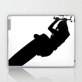Time To Wake Up Kiteboarder Silhouette Laptop & iPad Skin