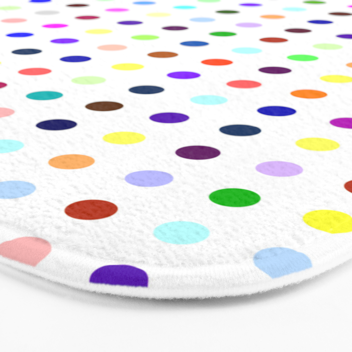 Big Hirst Polka Dot Bath Mat