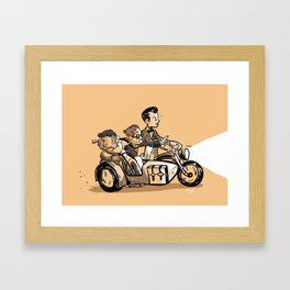Road Trip! Framed Art Print