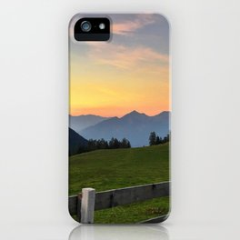 Kemater Alm iPhone Case