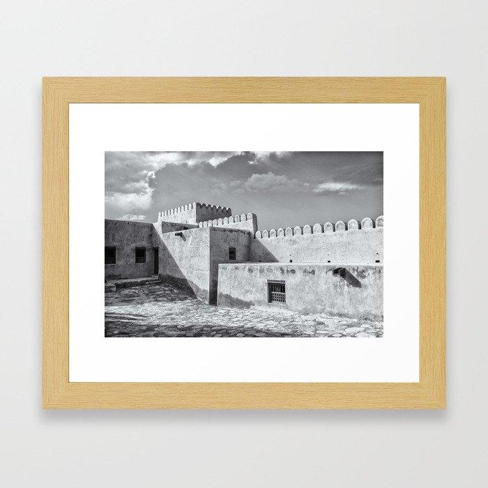 Bukha Fort, Oman Framed Art Print