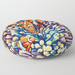 Clown Fish Floor Pillow