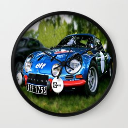 "The Alpine A110 ""Berlinette"" Wall Clock"