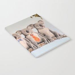 The Five Koalas Notebook
