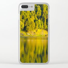 Furnas lake Clear iPhone Case