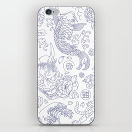 Japanese Tattoo iPhone Skin