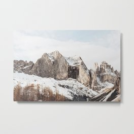 Boho Mountains Metal Print
