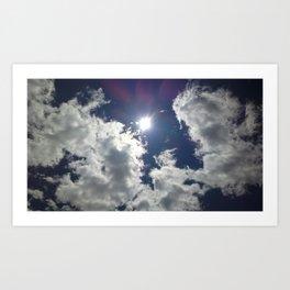 A Cloud Affair Art Print