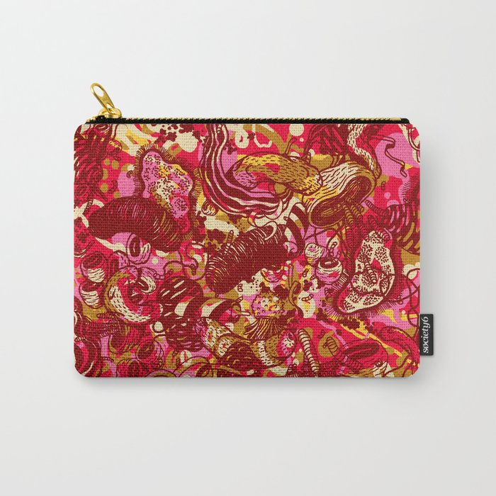 Red hot day Species Carry-All Pouch