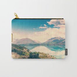 Lake Road Sign Carry-All Pouch