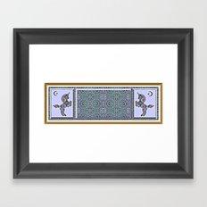 Fantasy Garden Framed Art Print