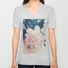 Beautiful Peony Flower Art Unisex V-Neck