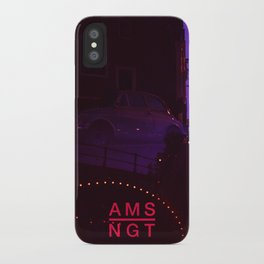 Amsterdam at Night No.1 iPhone Case