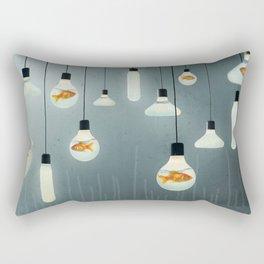 Ideas and Goldfish 04 Rectangular Pillow