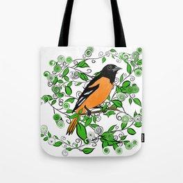 Oriole Song Bird Tote Bag