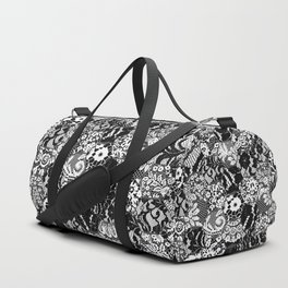 gothic lace Duffle Bag