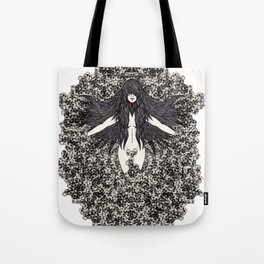 A Lady and her Skulls (Please give feedback) Tote Bag