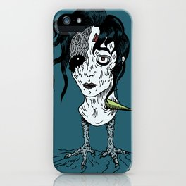 Lost Boy - Wounded iPhone Case