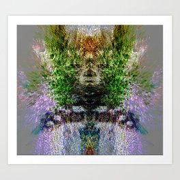 Heart of Reality Art Print