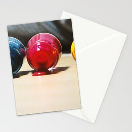 Nail art - color spa Stationery Cards