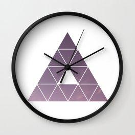 Pyramid Starry Sky Wall Clock