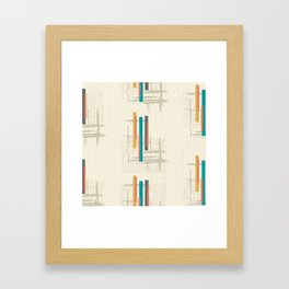 "Mid Century Modern ""Bar"" Framed Art Print"