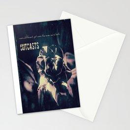 Outcasts Album Cover Stationery Cards