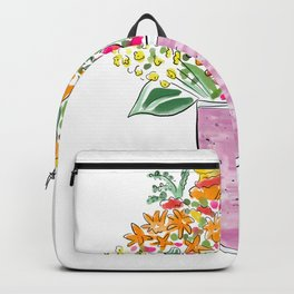 Smoothie & Bouquet Backpack