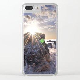 Church Bay Glow Clear iPhone Case