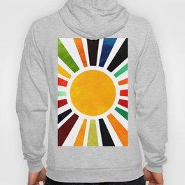 Sun Retro Art Hoody