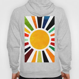 Sun Retro Art Hoody