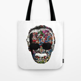 Stan Lee - Man of many faces Tote Bag