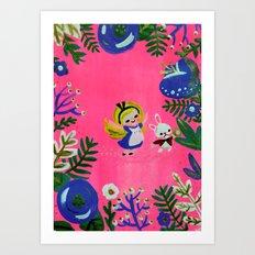 Alice Fan Art Art Print