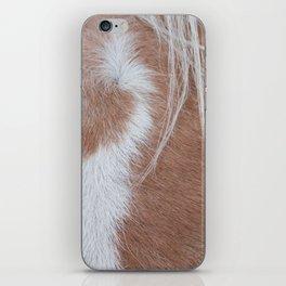 Equine Cowlick iPhone Skin