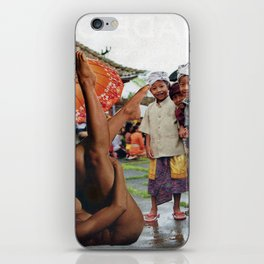 Peep Show - Vintage Collage iPhone Skin