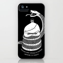NOTHING IS iPhone Case