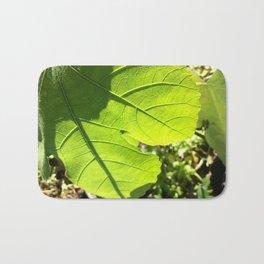 Fig leaf Bath Mat