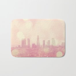 City of Dreamers. Los Angeles skyline photograph Bath Mat