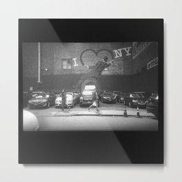 """""""We Love NY"""" : My35mmViewfinder Metal Print"""