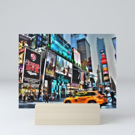 Times Square NY Mini Art Print
