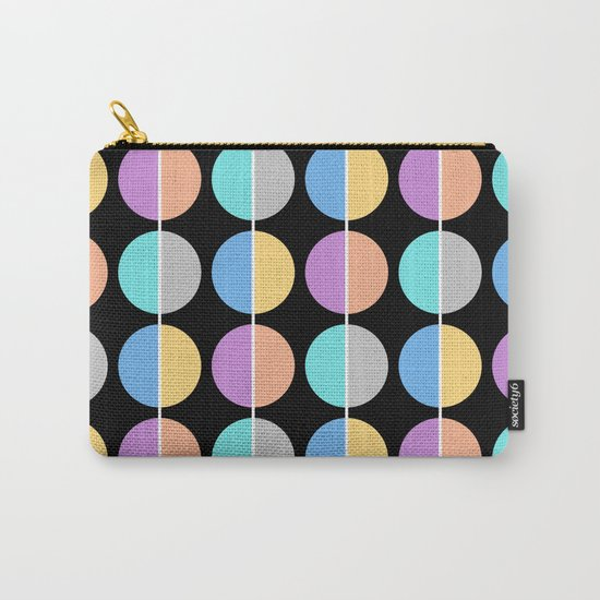 BACK TO THE 70's (abstract geometric pattern) Carry-All Pouch