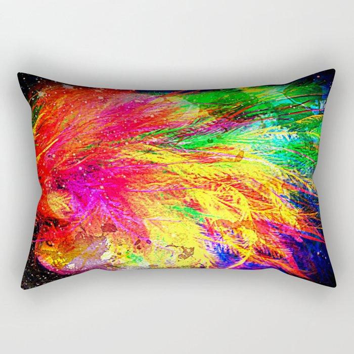 Bursting With Joy Rectangular Pillow
